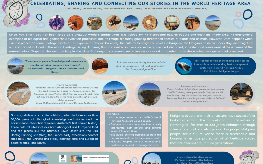 Voices from Gathaagudu: Celebrating, Sharing and Connecting our Stories in the Shark Bay World Heritage Area